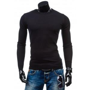 Čierny sveter pre pánov