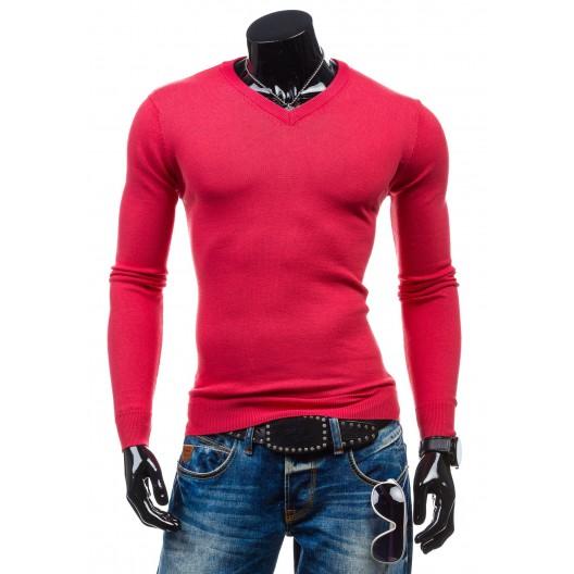 Sveter ružovej farby pre pánov