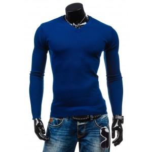 Pulóver modrej farby pánsky