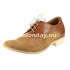 Pánske kožené topánky svetlo-hnedé