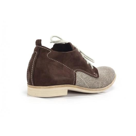 Kožené topánky pánske COMODO E SANO hnedé