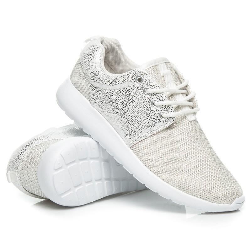 de7df1b217 Predchádzajúci. Dámska športová obuv bielo striebornej farby ...