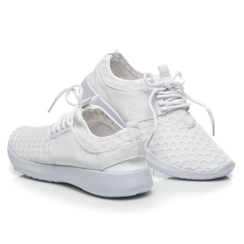 5653b91501 Predchádzajúci. Biele dámska športové tenisky so vzorom kruhov ...