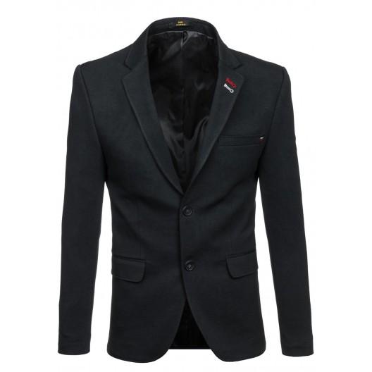 Klasické čierne pánske sako