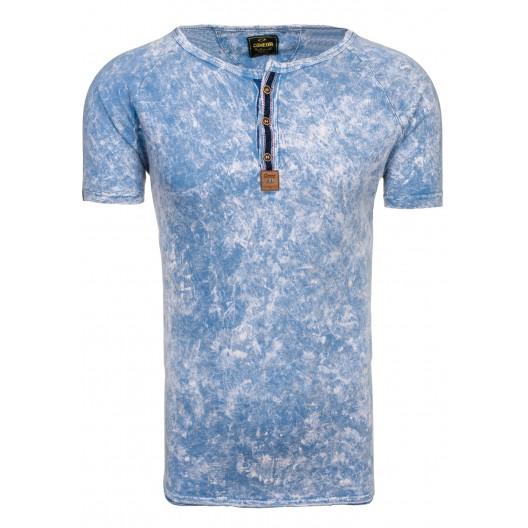 Tričko pre mužov svetlo modrej farby