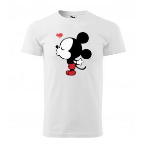 Pánske valentínske tričko s krátkym rukávom