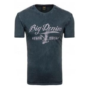 Tričko pre mužov v čiernej farbe