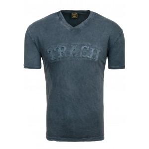 Pánske tričko krátky rukáv čiernej farby