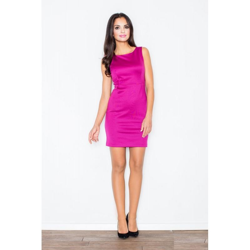a5f9a0954700 Puzdrové šaty na svadbu v cyklamenovej farbe - fashionday.eu