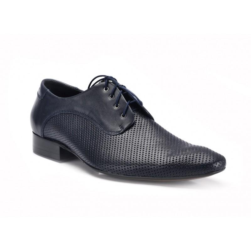 f6135a7f5c COMODO E SANO elegantná pánska kožená obuv čiernej farby - fashionday.eu