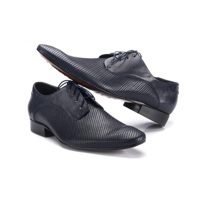 f29a0172c6 COMODO E SANO elegantná pánska kožená obuv čiernej farby - fashionday.eu