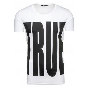 Sexi tričko pre pánov bielej farby