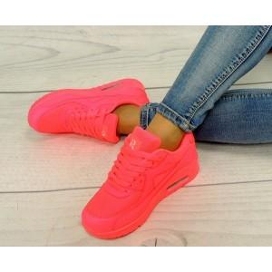 Dámske športové botasky AIR ružovej farby