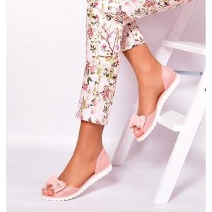 Dámske sandále v ružovej farbe