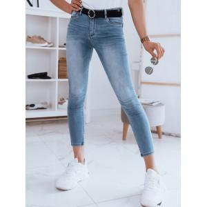 Svetlo modré dámsk džínsy classic skinny fit
