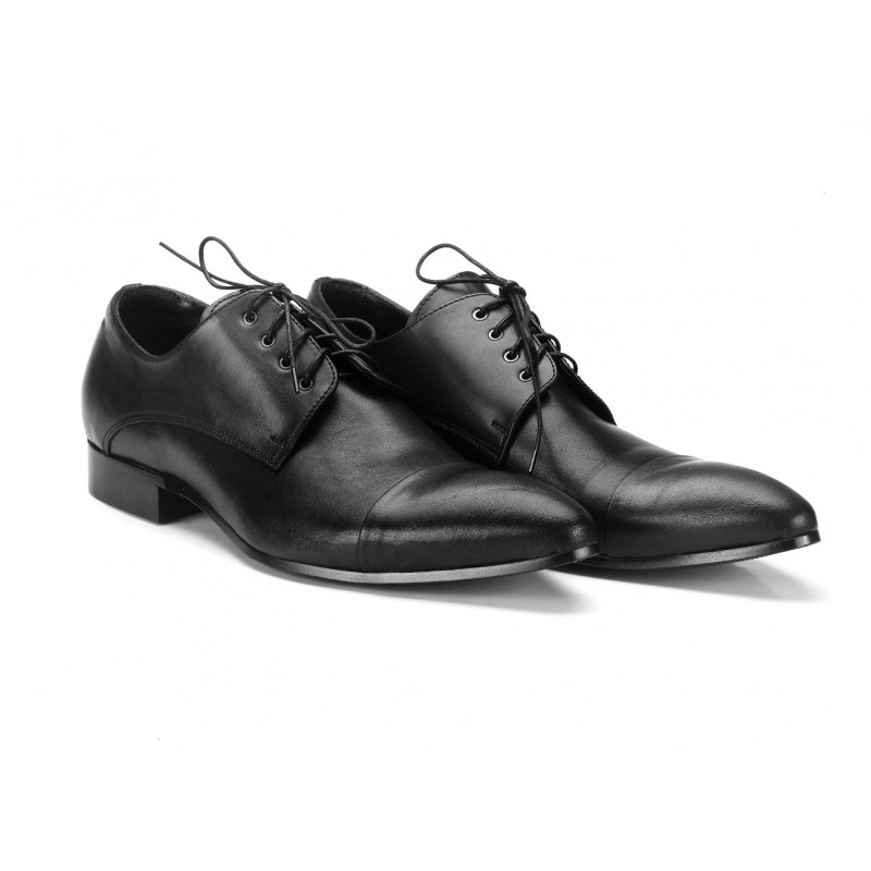 233c5773f6549 Pánske svadobné kožené topánky COMODO E SANO - fashionday.eu