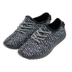 Športová pánska obuv čierno sivej farby