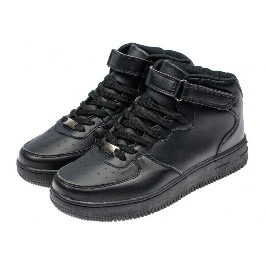 Topánky pre šport a na voľný čas v čiernej farbe