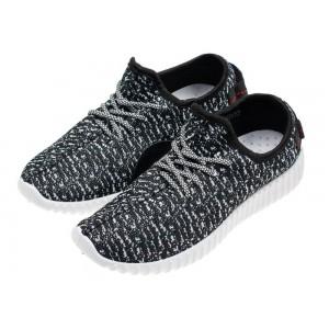 Čierno sivé módne pánske športové topánky