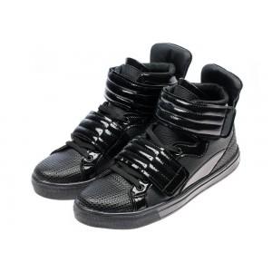 Čierna pánska vychádzková obuv kotníková