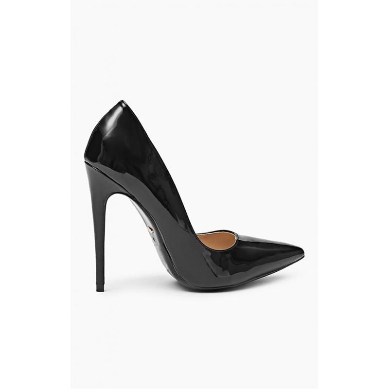 Luxusné lodičky pre dámy v čiernej farbe - fashionday.eu 94614dbc85