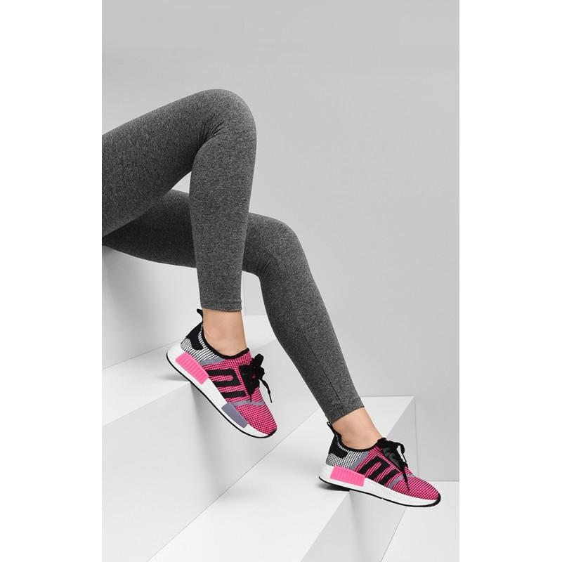 d36b80b17f22b Predchádzajúci. Ružová dámska bežecká obuv s mäkkou podrážkou ...