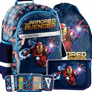 Školský batoh AVANGERES v trojdielnej sade