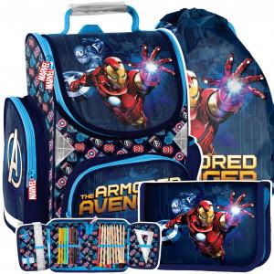 Školská taška s motívom AVANGERS v trojsade