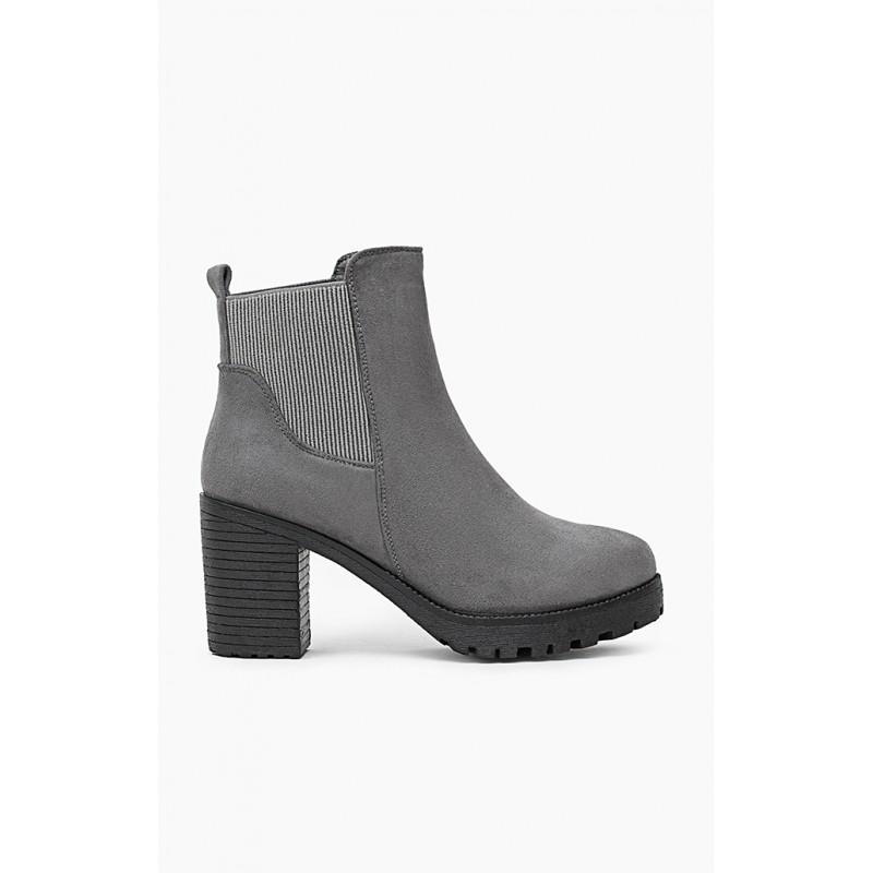 bb7f1ee80aa7 Členkové dámske prechodné topánky na vysokom podpätku - fashionday.eu