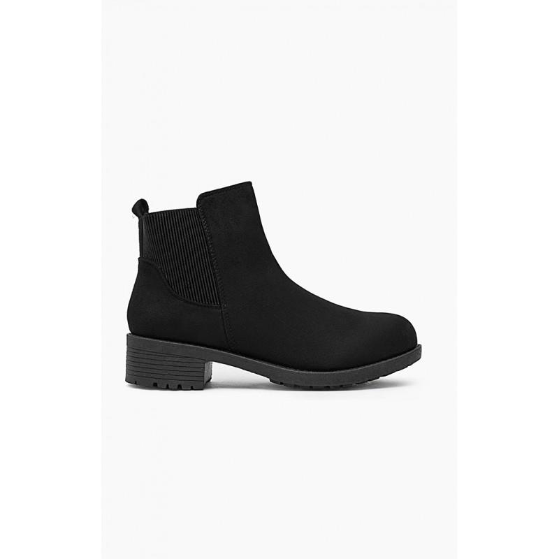 f508eff3ca34 Predchádzajúci. Jesenné kotníkové dámske topánky čiernej farby ...