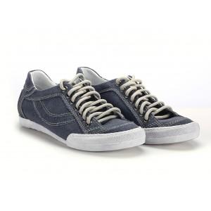 Jeansové pánske športové topánky COMODO E SANO