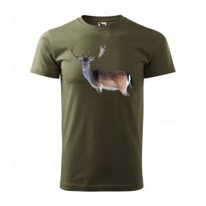 MILITAR VEĽKOSŤ 2XL oľovnícke tričko s motívom daniela