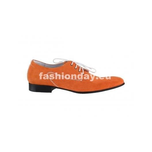 Pánske topánky - oranžové