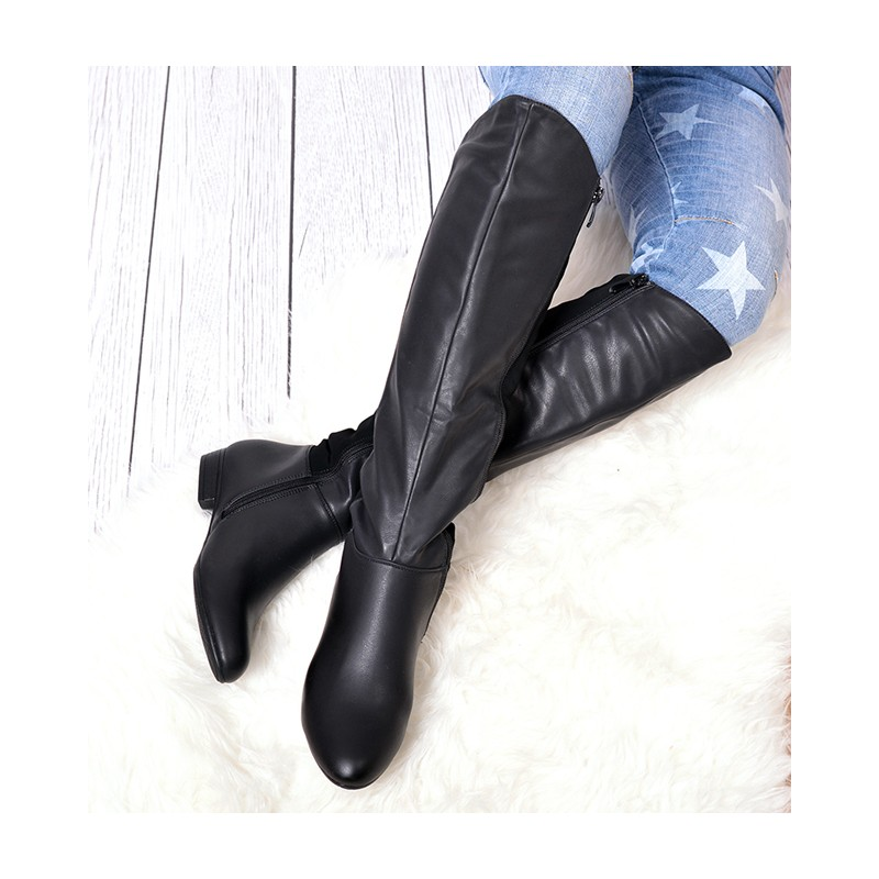 677b807945 Predchádzajúci. Čierne dámske zimné čižmy ...