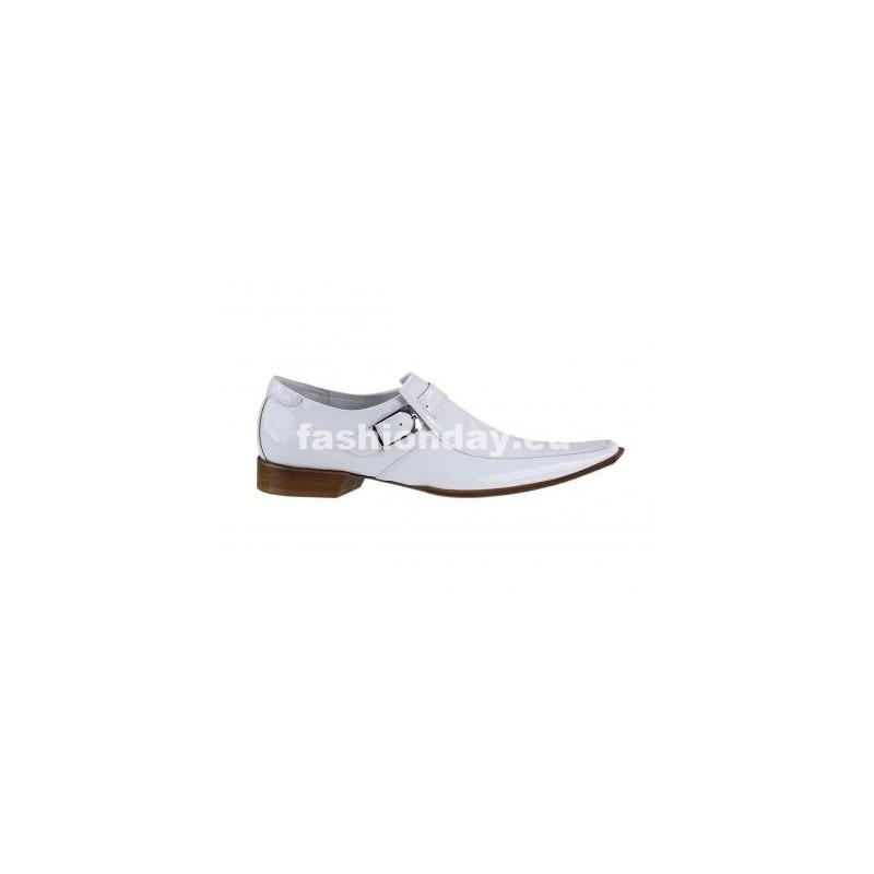 096c03b324 Pánske kožené extravagantné topánky biele - fashionday.eu