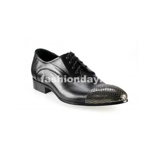 Pánske topánky - lesklé čierne