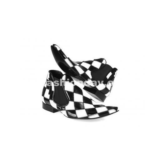 Pánske topánky - bieločierne