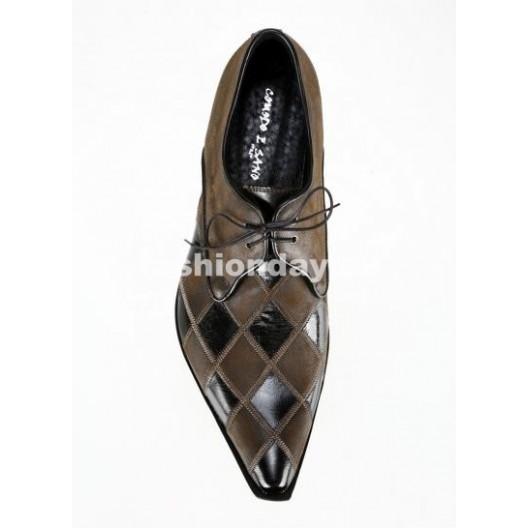 Pánske topánky - čiernohnedé
