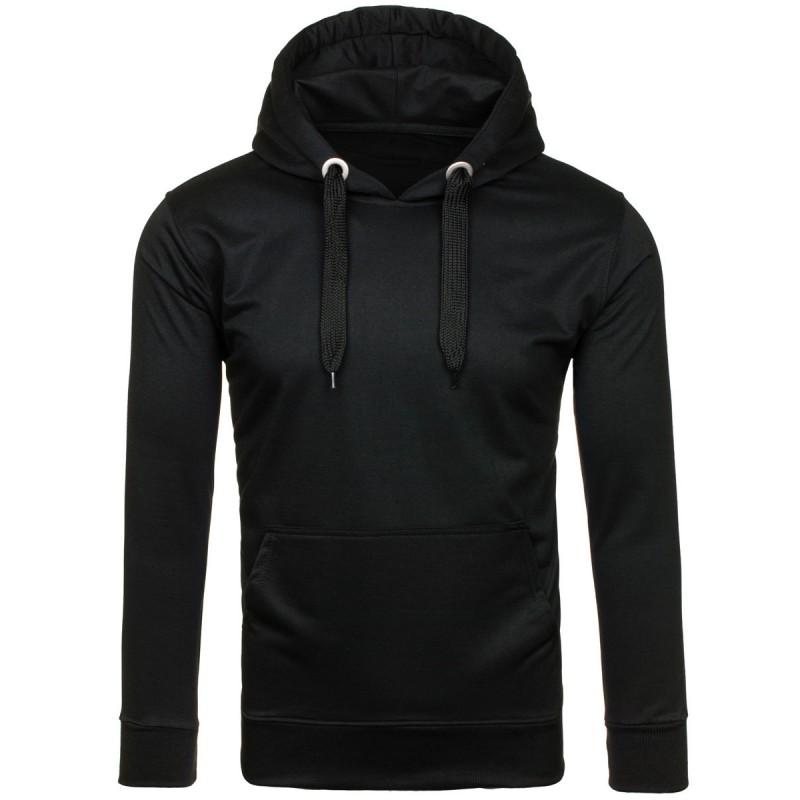 Predchádzajúci. Pánske športové bundy s kapucňou v čiernej farbe ... 280b4ba73ad
