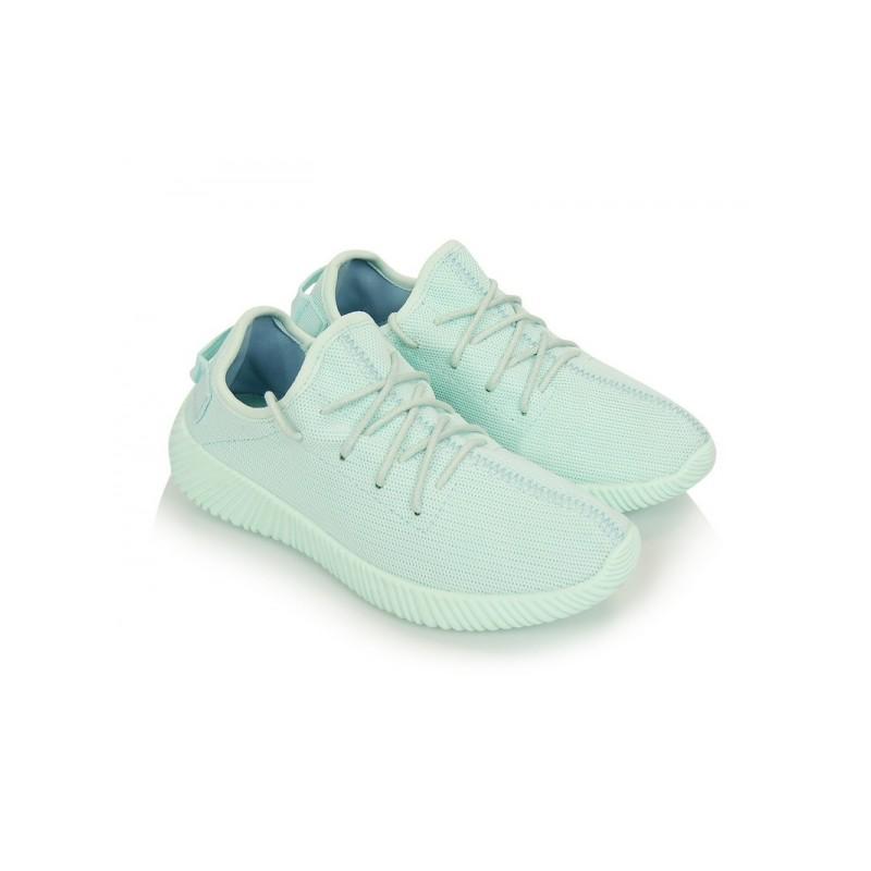 Modré dámske športové tenisky so šnúrkami na voľný čas - fashionday.eu 4e57c5add91