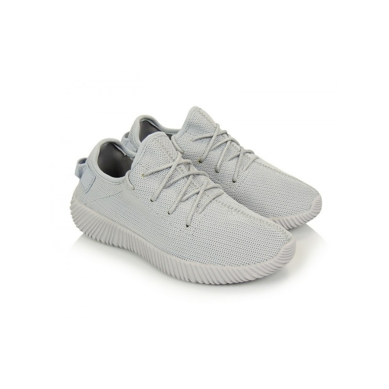 9550c3ded77d Pohodlné sivé dámske botasky na šnurovanie s ľahkou podrážkou ...