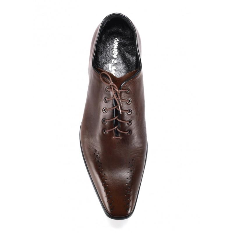 929434f3e0d Hnedé pánske spoločenské topánky COMODO E SANO  Hnedé pánske spoločenské ...