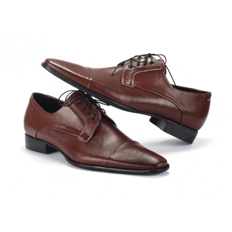 04a64d35d1f ... hnedej farbe COMODO E SANO · Pánske kožené spoločenské topánky ...