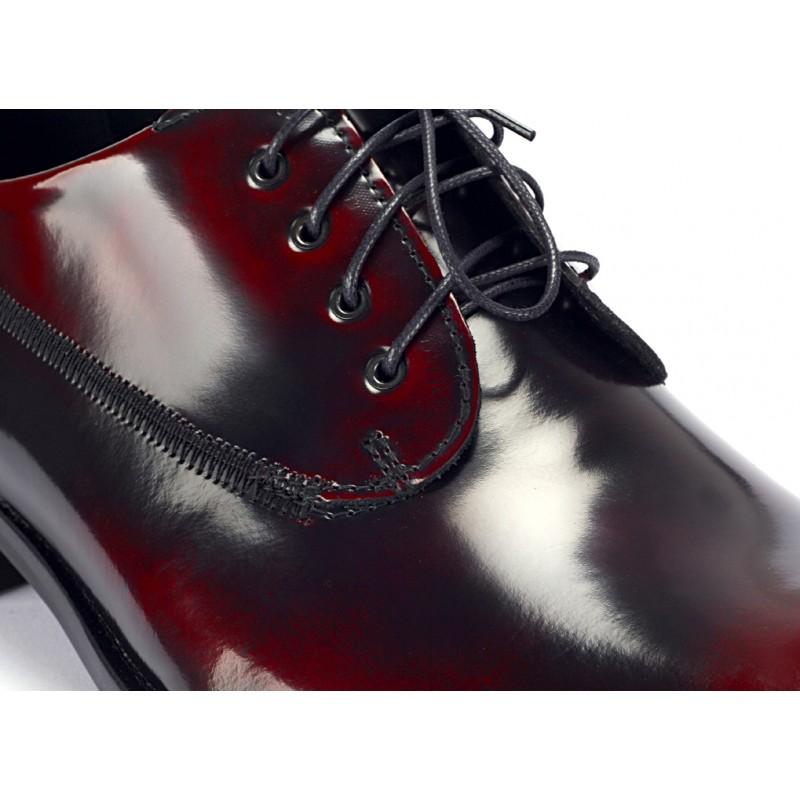 ... topánky COMODO E SANO · Pánske čierno červené luxusné kožené ... 4e97e7c9979