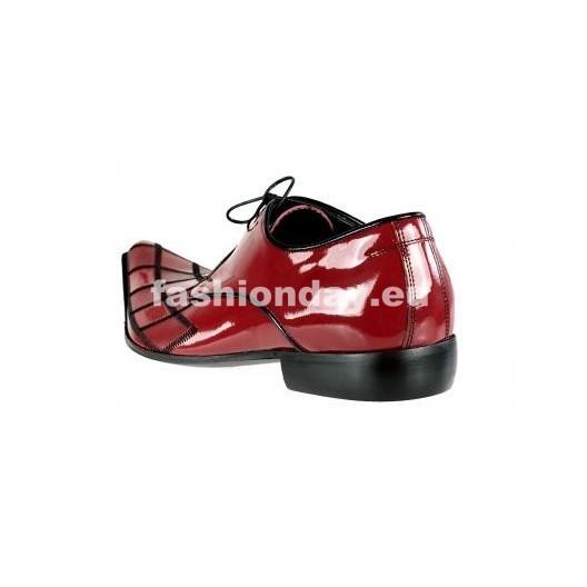Pánske topánky - lesklé červené
