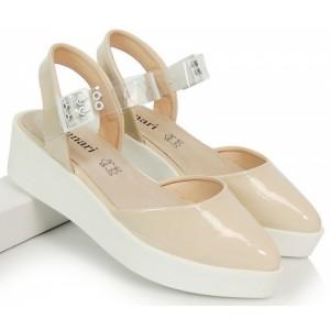 1df795011755 Elegantné dámske sandále v ružovej farbe - fashionday.eu