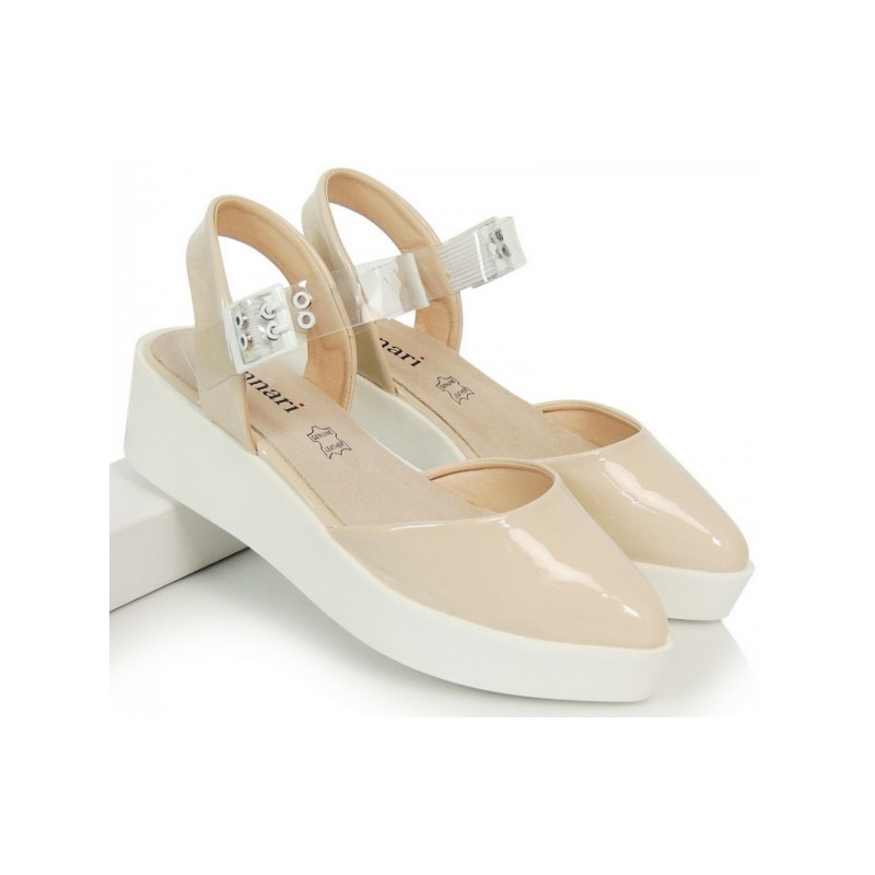 51bc074a76 Telové dámske sandále s prackou - fashionday.eu