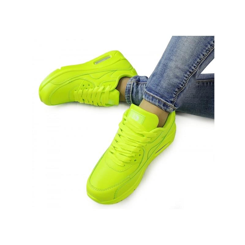 256276bc0c Športová obuv dámska neónová na šnurovanie - fashionday.eu