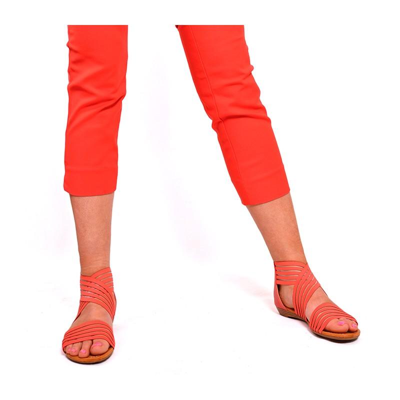 805232132baa Predchádzajúci. Pohodlné dámske sandále červené ...