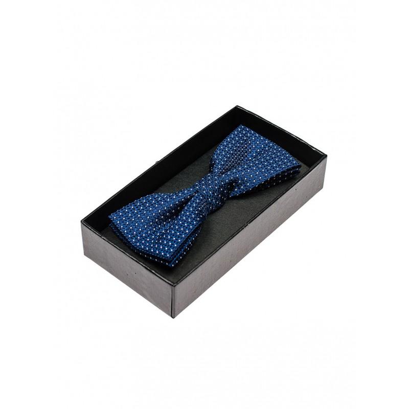 Modré vzorované pánske motýliky - fashionday.eu 3bb0e05fe20